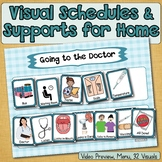Visual Schedule, Social Story Starters, Pretend, Role-Play