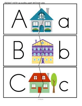 HOMES Theme Unit 1 for Preschool and Pre-K