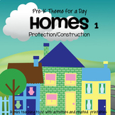 HOMES Theme Unit 1 for Preschool and Pre-K