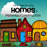 HOMES Unit 2 - Building Materials Preschool and Pre-K