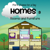 HOMES Rooms and Furniture Centers and Activities for Preschool and Pre-K