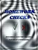 HOMEWORK CHECKS - Version 2A