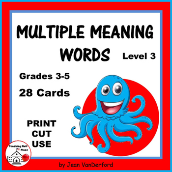 Multiple Meaning Words 3| VOCABULARY REVIEW | Homographs |