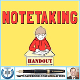 NOTE-TAKING: HANDOUTS