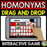 HOMONYMS GAME (BOOM CARDS GRAMMAR) MULTIPLE MEANING WORDS ACTIVITY
