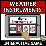 WEATHER INSTRUMENTS STATION DIGITAL ACTIVITY (BOOM CARDS SCIENCE)