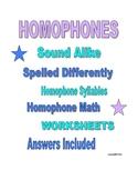 HOMOPHONES ARE FUN