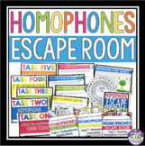HOMOPHONES ESCAPE ROOM ACTIVITY