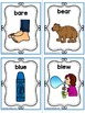 HOMOPHONES Flash Cards- Word Wall Cards- 68 CARDS (34 PAIRS)
