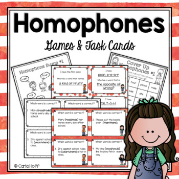 HOMOPHONES - Print and Play Practice Games