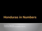 HONDURAS IN NUMBERS