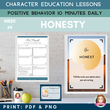 HONESTY - Positive Behavior | Daily Character Education |