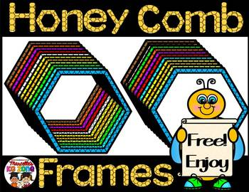 HONEY COMB FRAMES- FREE
