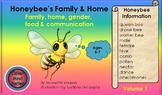 HONEY BEE FACTS: HONEYBEE'S FAMILY & HOME VOLUME 1