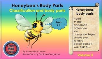 HONEYBEE FACTS: HONEYBEE'S BODY PARTS VOLUME 3