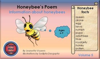 HONEYBEE FACTS: HONEYBEE'S POEM VOLUME 5