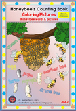HONEY BEE FACTS: COLORING PICTURES: HONEY BEE WORDS & PICTURES-4b&c