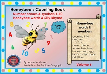HONEYBEE'S COUNTING BOOK - VOLUME 6 - PACKAGE 2 - FREE SAMPLES - LANDSCAPE