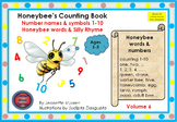 HONEYBEE TERMINOLOGY:HONEYBEE'S COUNTING BOOK - VOL 6 - WHITE BACKGROUND 1a