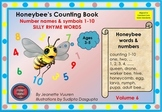 HONEY BEE FACTS WORDS & SONG: YOUTUBE HONEYBEE'S SILLY RHY