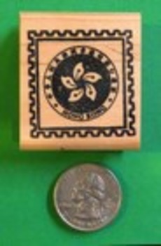HONG KONG Country/Passprt Rubber Stamp