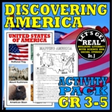 Discover America Activity Pack for Grades 2-3