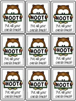 #summer2017 HOOT! - A Long oo Word Game
