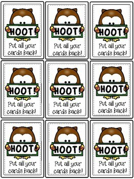HOOT! - A Long oo Word Game