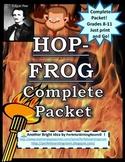 NEW! HOP-FROG COMPLETE Packet - Activities, Quizzes, Keys