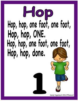 HOP Locomotor Poster