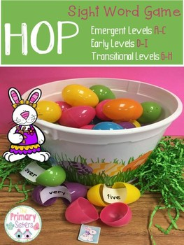 HOP Sight Word Game