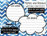 HOPES AND DREAMS WRITING ACTIVITY [CRAFTIVITY]