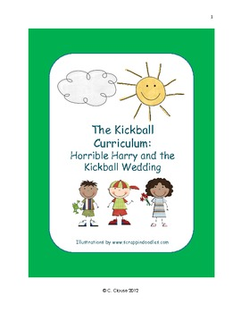 HORRIBLE HARRY AND THE KICKBALL WEDDING LESSON PLAN – CCSS