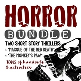 "HORROR BUNDLE: ""The Monkey's Paw"" and ""Masque of the Red Death"""