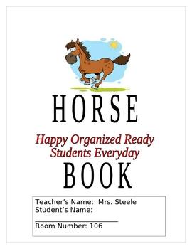 HORSE Binder Cover (Moose book)