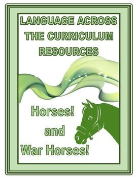 HORSES AND WAR HORSES  A CROSS CURRICULAR LITERACY THEME