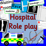 HOSPITAL role play- dramatic play