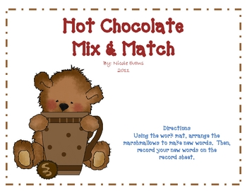 HOT CHOCOLATE Words