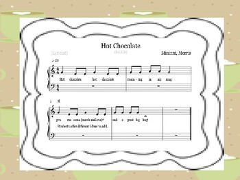 HOT CHOCOLATE a so mi song for K-3