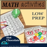 NUMBERS 1-20 HOT CHOCOLATE  math activity