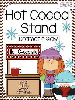 HOT COCOA STAND Dramatic Play Center
