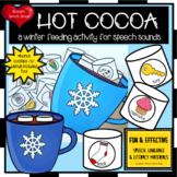 HOT Chocolate WINTER ARTICULATION SPEECH LOW PREP bonus co