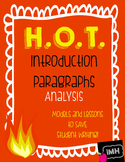 HOT Introduction Paragraph Sample Analysis Activity!