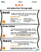 HOT Introduction Paragraph Unit:  Notes , Graphics, Lessons, Models, and MORE!
