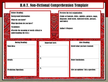 HOT Non-Fiction & Fiction Templates