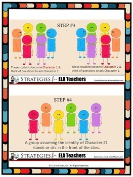 HOT SEAT: Interactive Reading Strategy and Quick-Demo Mini-Lesson