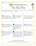 Higher Order Reading Comprehension Tic Tac Toe Questions