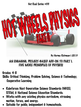 HOT WHEELS PHYSICS PT. 2 FOR NEXT GENERATION SCIENCE STANDARDS FUN!