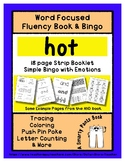 HOT - Word Fluency Book & Emotion Bingo - Sight Word Focus