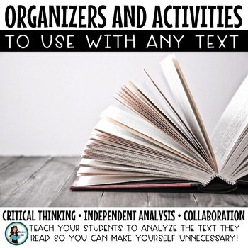 Higher Order Thinking Activities That Can Be Used with Any Text